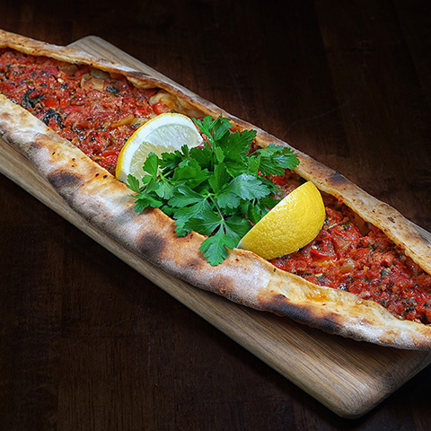 Turkish Pide Pizza